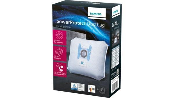 Siemens PowerProtect Staubsaugerbeutel G ALL