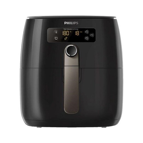Philips HD9745/90 Avance Collection Airfryer Heißluft-Fritteuse schwarz